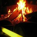 Glowstick by Fire