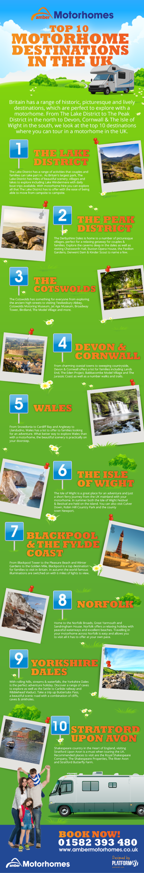Best Destinations to Visit in the UK by Motorhome